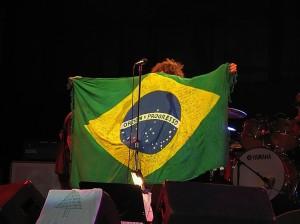 Eddie Vedder no Brasil :D